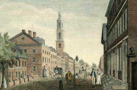 Pres Church Arch St 1799 Wm Birch