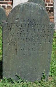 1721 grave Old Swedes