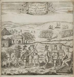 Campanius book frontpiece 1702