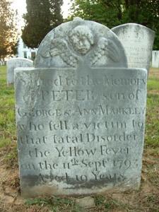yellowfever gravestone