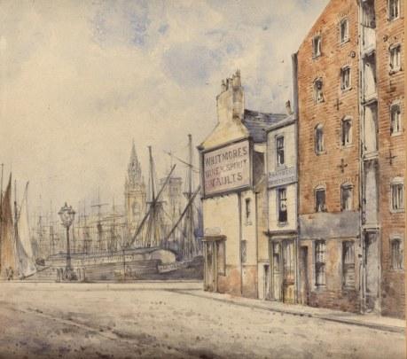 Irwell Street George's Dock. 1869.