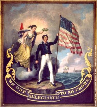 War 1812 painting