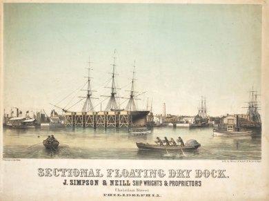 Simpson dry dock color