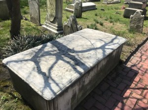 Caleb Cushing's grave