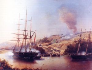 43 - Battle_of_Rio_Nunez_1849