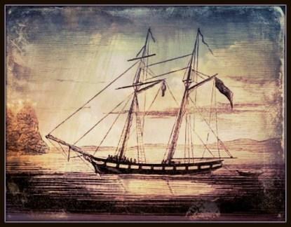 60 - William Mitchell's schooner