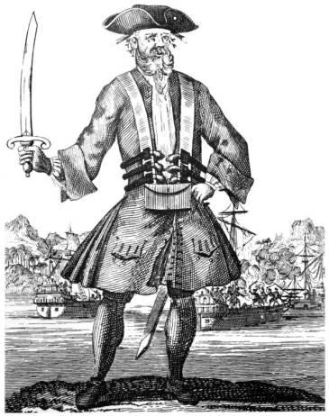 62 - Blackbeard contemporary drawing